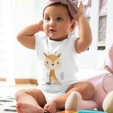 Бебешко боди Еленче